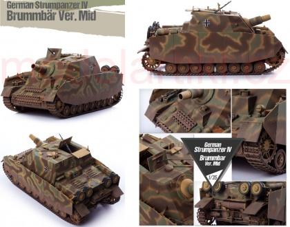German Strumpanzer IV Brummbar (Ver.Mid) w/ Zimmerit