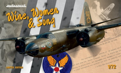 B-26B/C Marauder - WINE, WOMEN & SONG (Limited Edition)