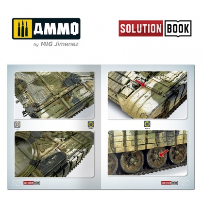 How To Paint Modern Russian Tanks Solution Book (Multilingual)