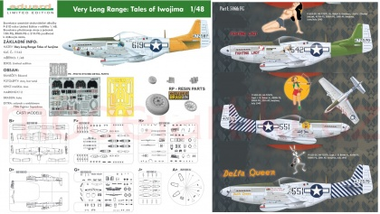Very Long Range: Tales of Iwojima P-51D (Limited edition)