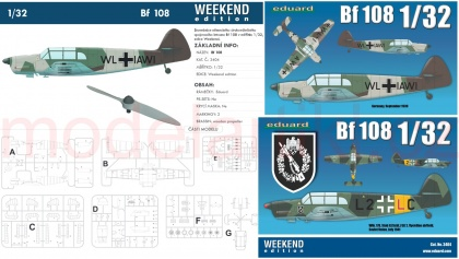 Messerschmitt Bf 108 Taifun (Weekend)