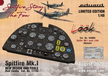 Spitfire Mk. I raná verze LööK (Eduard)