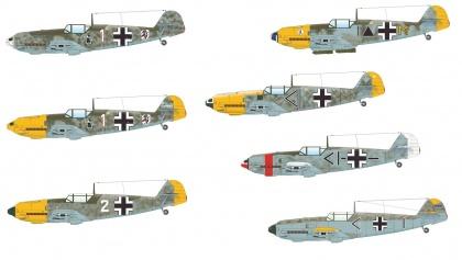ADLERANGRIFF - Messerschmitt Bf 109E 1/3/4 (Limited edition - Dual Combo)