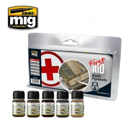 First Aid Basic Pigments Set 5x35ml