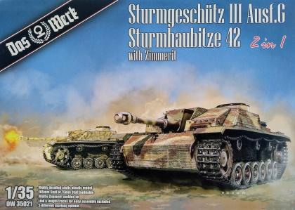 Sturmgeschütz III Ausf.G / Sturmhaubitze 42 (2 in 1, with Zimmerit)
