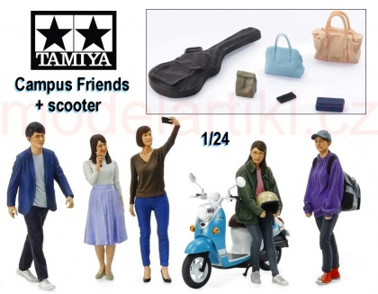 Campus Friends Set 2 (plus scooter Yamaha Vino)