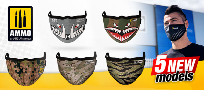 Multicam AMMO Face Mask