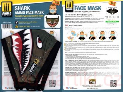 Shark AMMO Face Mask