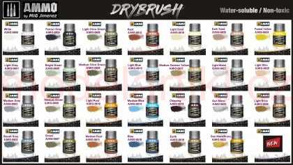 DRYBRUSH Faded Yellow 40ml