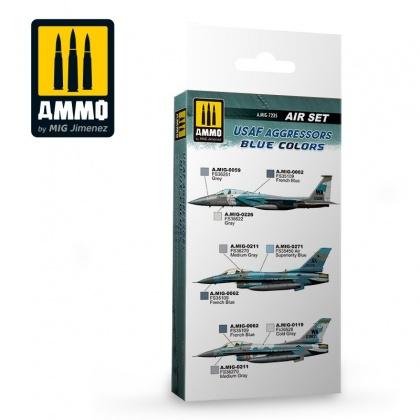 USAF Aggressors Blue Colors Set 6x17ml