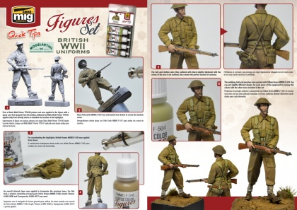 British Uniforms WWII Colors 4x17ml