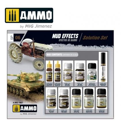 Mud Effects Solution Super Pack 1x10ml, 2x17ml, 8x35ml