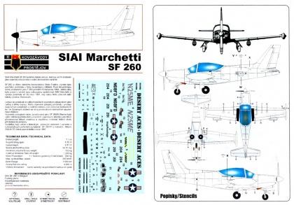 """SIAI SF-260 """"Over USA"""""""