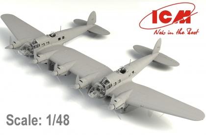 "He 111Z-1 ""Zwilling"", WWII German Glider Tug"