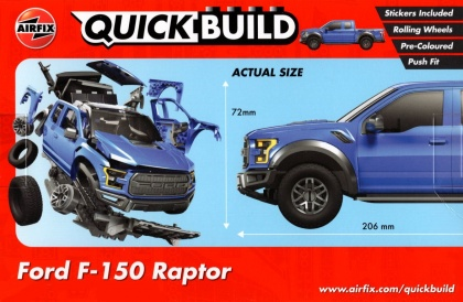 Ford F-150 Raptor QUICK BUILD