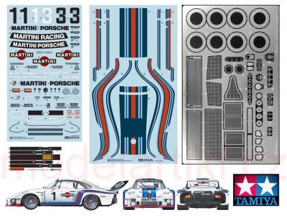 Porsche 935 Martini (reedice + w/PHOTO-ETCHED PARTS)