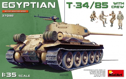 EGYPTIAN T-34/85 (With Cew)