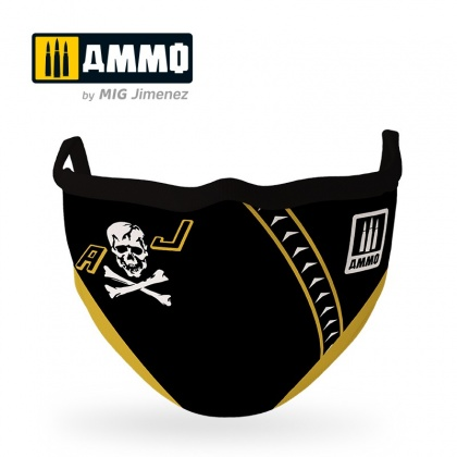 Jolly Rogers AMMO Face Mask