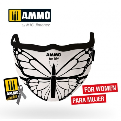 Life Butterfly AMMO Face Mask