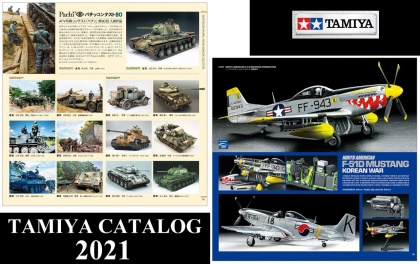 Tamiya Catalog 2021