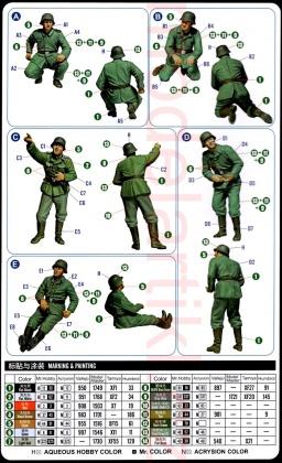 20mm Flak38 Figure Set (5 Crew)