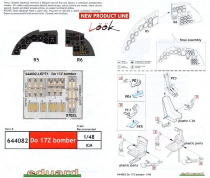 Do 17Z bomber (For Eduard/ICM kit)