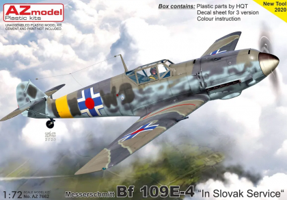 Bf 109E-4  In Slovak Service