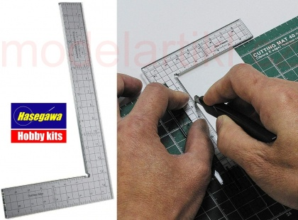 Cutting Scale L Shape 15x9cm (TRYTOOL)