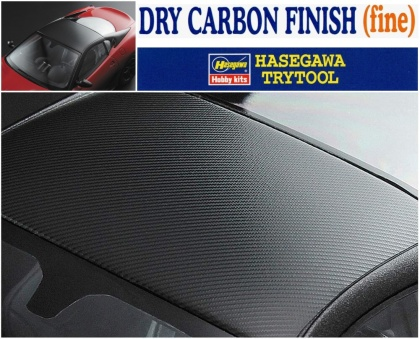 Dry Carbon Finish (fine)