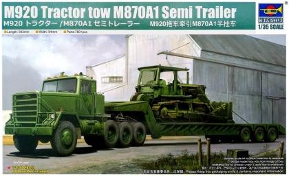 M920 Tractor tow M870A1 Semi Trailer