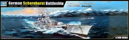 German Scharnhorst Battleship