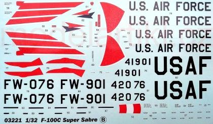 F-100C Super Sabre