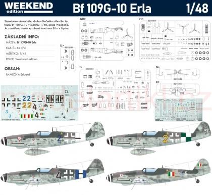 Bf 109G-10 Erla (Weekend)