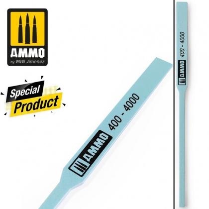 Polishing Sanding Stick - 2 different grits: 400/4000 (1pcs.)