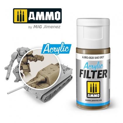 Sand Grey Acrylic Filter 15ml