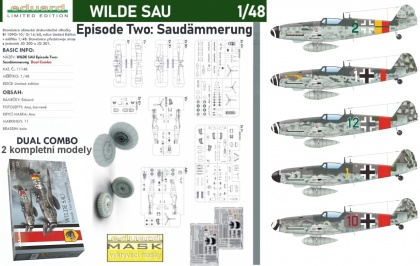 WILDE SAU - Episode Two: Saudämmerung (2x Bf 109G - Limited edition - Dual Combo)