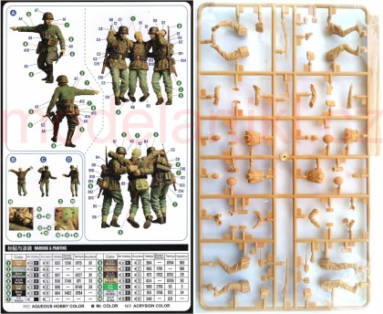 Kursk Bailout from the pocket - Figure Set (4 Crew)