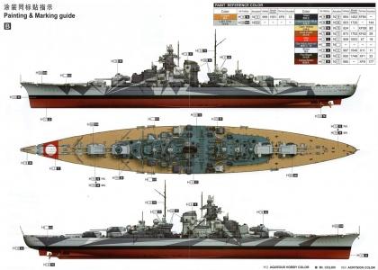 German Tirpitz Battleship