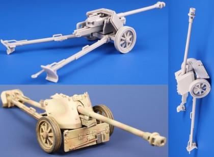 7,5cm PaK 40 German Anti-tank Gun