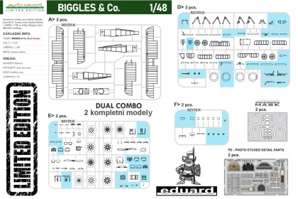 BIGGLES & Co. - Sopwith F.1 Camel (Dual Combo - Limited Edition)