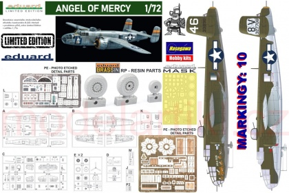 B-25J Mitchell - ANGEL OF MERCY (Limited Edition)