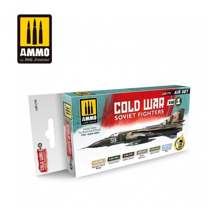 Cold War Vol.1 Soivet Fighters Colors Set 6x17ml