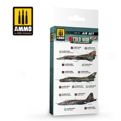 Cold War Vol.2 Soivet Fighters-Bombers Colors Set 6x17ml