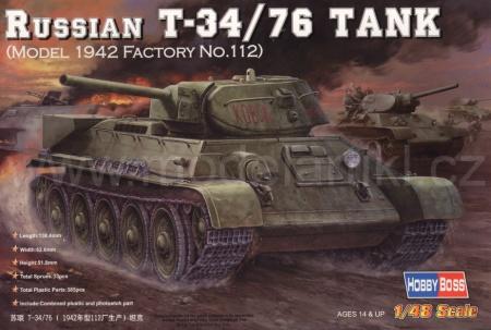 T-34/76 model 1942 Factory No.112