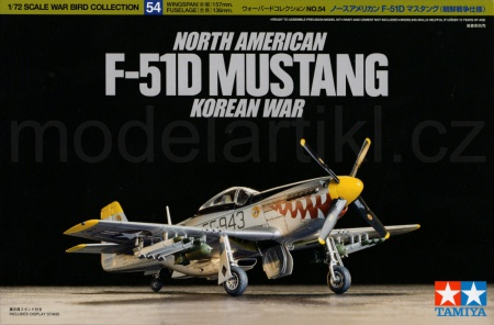 North American F-51D Mustang Korean War 001/60754