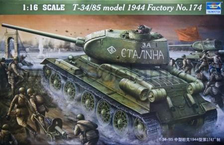 "T-34/85 Model 1944 ""Factory No.174""(w/ full interior kit)"