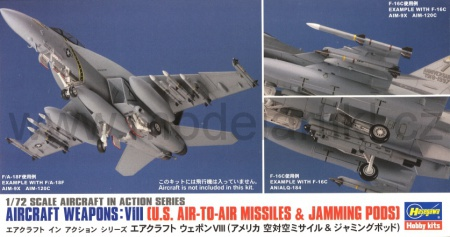 Aircraft Weapons: VIII (U.S. Air-to-air Missiles & Jamming Pods) 007/X72-13