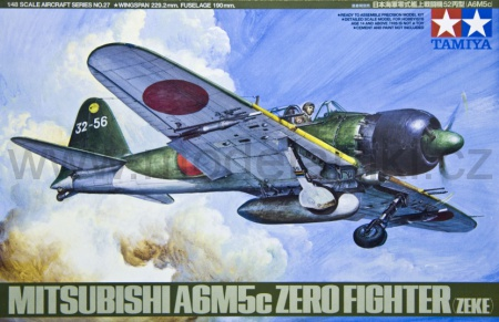 Mitsubishi A6M5c Type 52 Zero Fighter