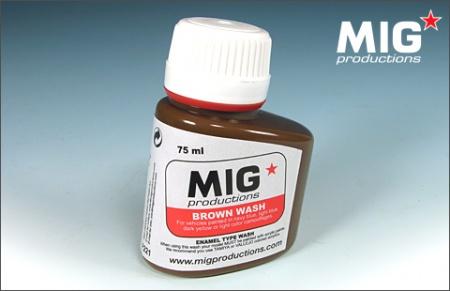 P221 Brown Wash 75ml