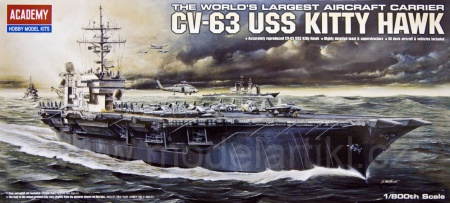 CV-63 USS Kitty Hawk 002/14210